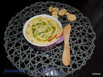 Moje Małe Czarowanie: Hummus z jabłkiem