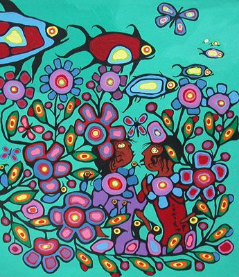 Kaha:wi Dance Theatre's production of TransMigration is inspired by the life and paintings of iconic Ojibwe shaman-artist Norval Morrisseau. The Dream by Norval Morrisseau