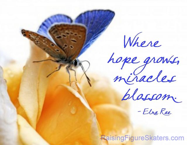 """""""Where Hope Grows, Miracles Blossom"""" Word-Art Freebie"""
