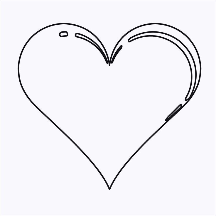 Unique Herz Vorlage Zum Ausdrucken | Herz vorlage ...