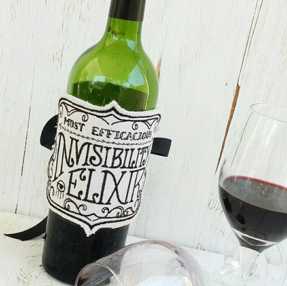I wanna be invisible...dont you ? https://www.etsy.com/listing/280319994/apothecary-bottle-labels-wine-bottle