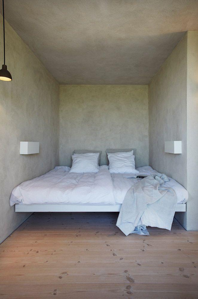 De ombyggede fisker værelser der finder moderne enkelhed
