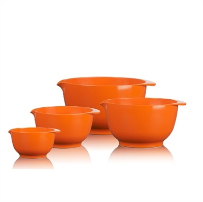 Rosti, Margrethe - røreskål, orange, flere størrelser, 4 størrelser - Salling