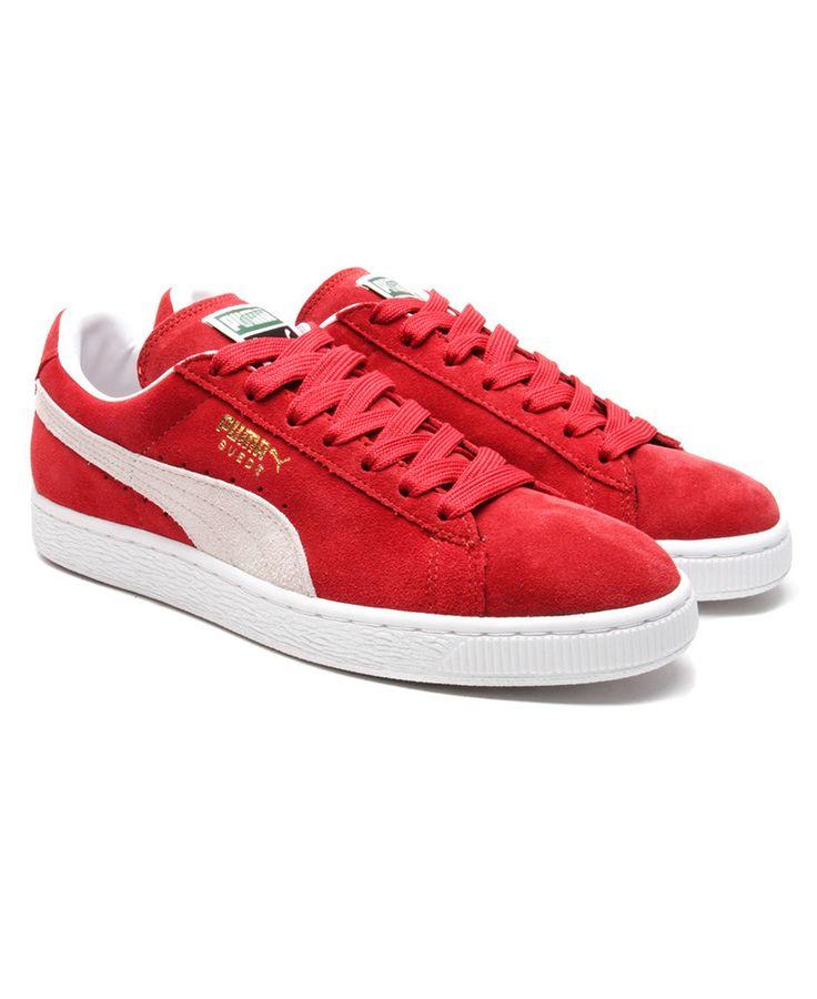 Puma - Suede Classic (Red/White)