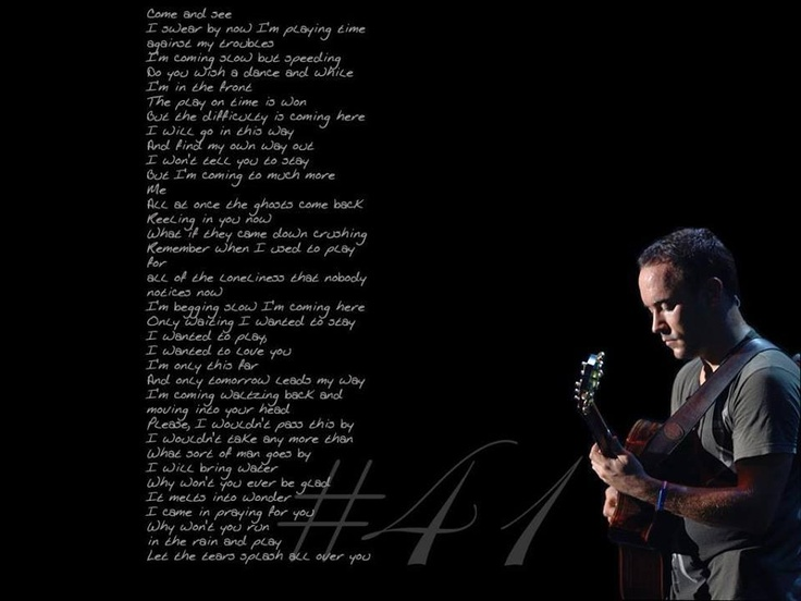 an introduction to the life and music by dave matthews band Despite the introduction,  loathe as we are to keep harping on the live music angle,  the top 10 best dave matthews band songs by:.