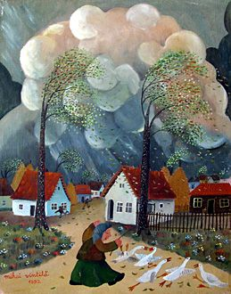 The Tempest by Mihai Vintila - GINA Gallery of International Naive Art