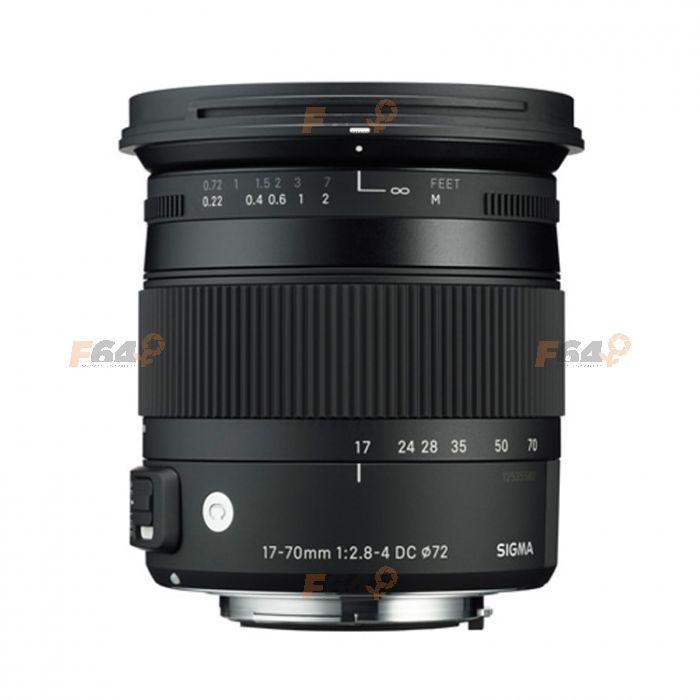 Sigma 17-70mm f/2.8-4 DC Macro OS HSM - Nikon AF-S - Contemporary