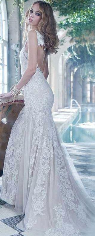 80 best Lazzaro images on Pinterest   Short wedding gowns, Wedding ...
