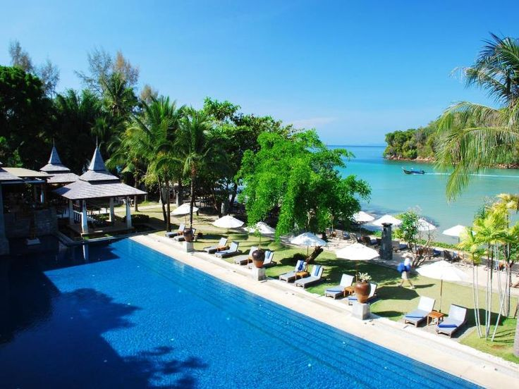 Nakamanda Resort & Spa. Book Now: http://www.aonangkrabiresorts.com/nakamanda-resort-spa Located in Krabi, this luxury resort is set amid gorgeous landscapes, thick jungle, and beautiful beaches. Nakamanda Resort & Spa brings you back to nature for the ultimate in accommodation. Activities in the area include diving, kayaking, fishing trips, boating, rock climbing, and hiking.