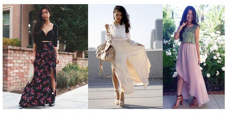 Длинные юбки для невысоких девушек: как выбирать и с чем сочетать