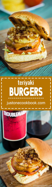 Teriyaki Burger (照り焼きバーガー)   Easy Japanese Recipes at JustOneCookbook.com