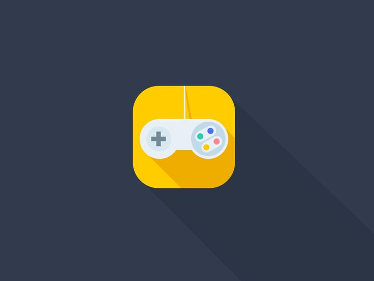 'Nintendo' video game remote iOS Flat App Icon Concept by Aditya Chhatrala