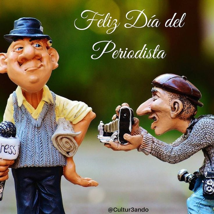 Feliz día del Periodista! Hoy 27 de junio. Gracias por su gran trabajo de mostrar la verdad.  #Cultur3ando #DiadelPeriodista #Periodismo #27jun