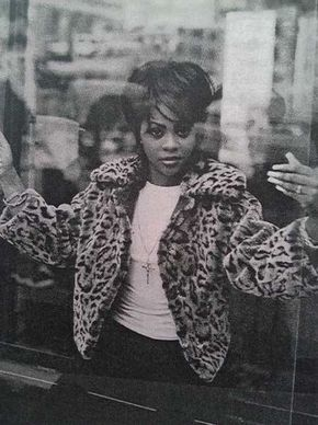 Lil' Kim in 1996 - 2 of my favourite things... Kim and leopard----------- Check…