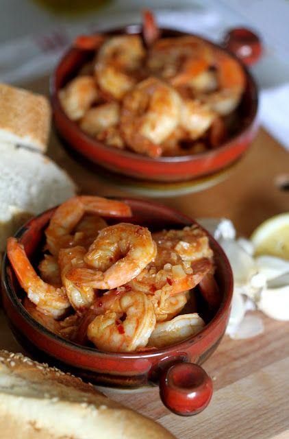 Gambas al Ajillo: Prawns with Garlic   Wandering Spice