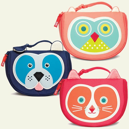 These adorable lunch bags are the perfect size for little kids with big appetites.