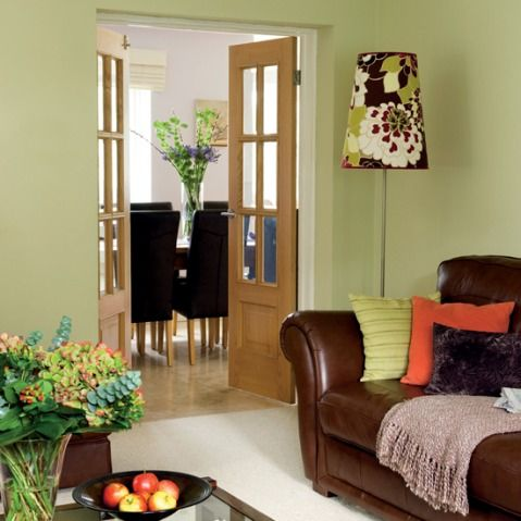 Green And Brown Living Room Decor Part 71