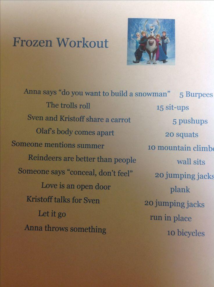 Frozen workout!!!
