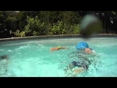 This video is from the Nammu sun protective swimming caps website. The caps are very comfortable for long hours in, and around the pool. Variety of colors available.