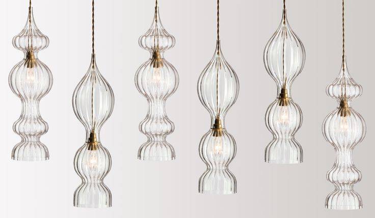Objects of Design #129: Hand Blown Glass Lights