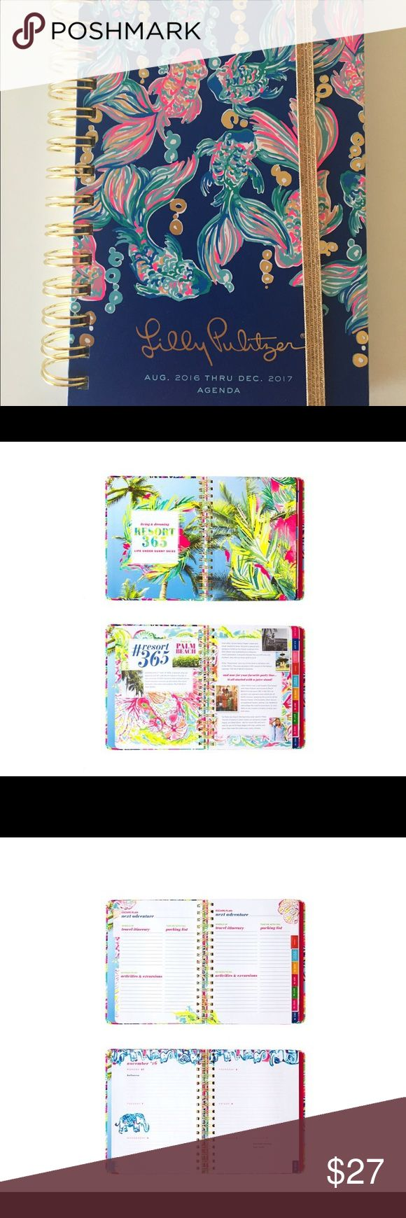 Lily Pulitzer 2016-2017 Agenda brand new! tag still on! Lilly Pulitzer Other