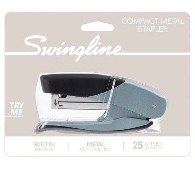 Swingline Stapler with Grip, Silver
