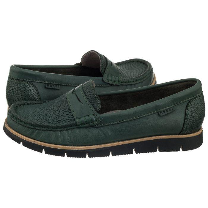 Mokasyny Nessi Zielone 76506 16 Rio W Butsklep Pl Loafers Shoes Fashion