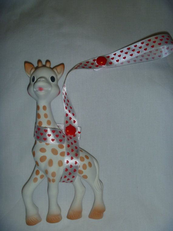 Red Heart Sophie the Giraffe Leash/Toy Saver Strap