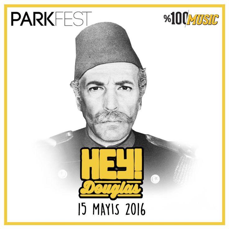 70'li yılların psychedelic, funk ve soul şarkılarını günümüz alt yapılarıyla tekrar düzenleyen Hey Douglas, festivale özel kurgu ve canlı performansıyla %100 Music Presents: Parkfest sahnesinin isimleri arasında!  Festival biletleri için avantajlı dönem devam ediyor! #parkfest16 #yüzdeyüzmüzik