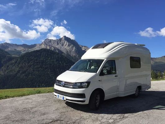 Wingamm Micros Our Ultra Compact Motorhome On Vw T6 Base Also Available With Dsg Gearbox And 4motion Version Camper Class B Camper Van Mini Motorhome