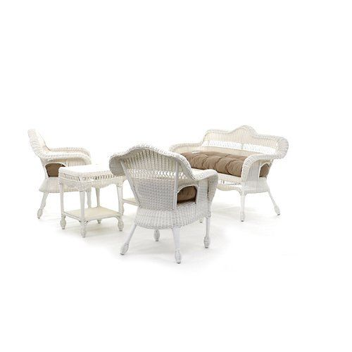 ... Furniture on Pinterest   Wicker patio furniture, Wicker and Patio sets