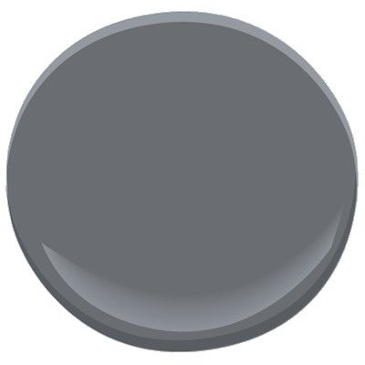 Benjamin Moore Ashland Slate: As its name suggests, the slight purple cast in this deep, saturated gray mirrors the subtle shading variations of slate. This color captivates with a sense of strength and durability.