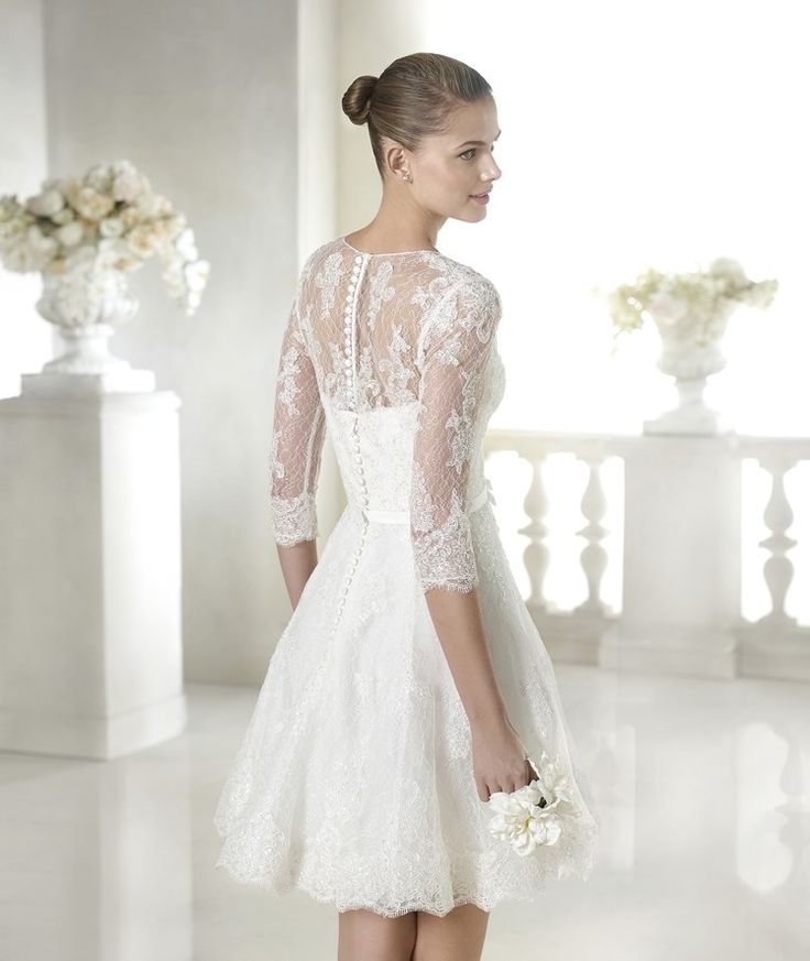 Vestidos de novia civil gamarra