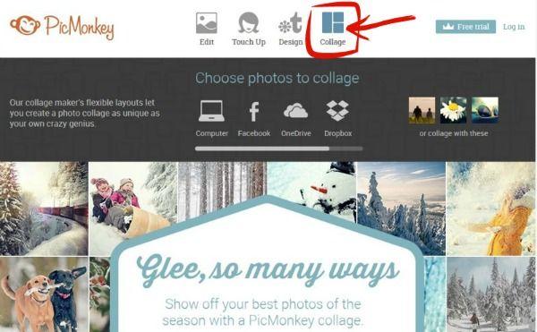 Kto jeszcze chce poznać sposób na fotograficzny collage w Picmonkey?