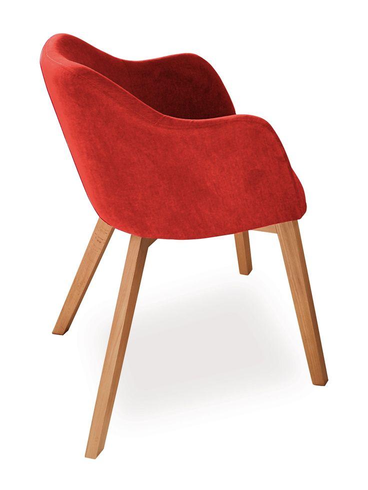 Nehmen Sie bequem in dem Sessel Theo Platz. Der schicke Einzelsessel punktet dabei in einer geschmackvollen Kombination aus lackierter Buche und einem angenehmen Bezugsstoff. Das robuste 4-Fuß-Spider-Gestell und sorgt nicht nur für die...