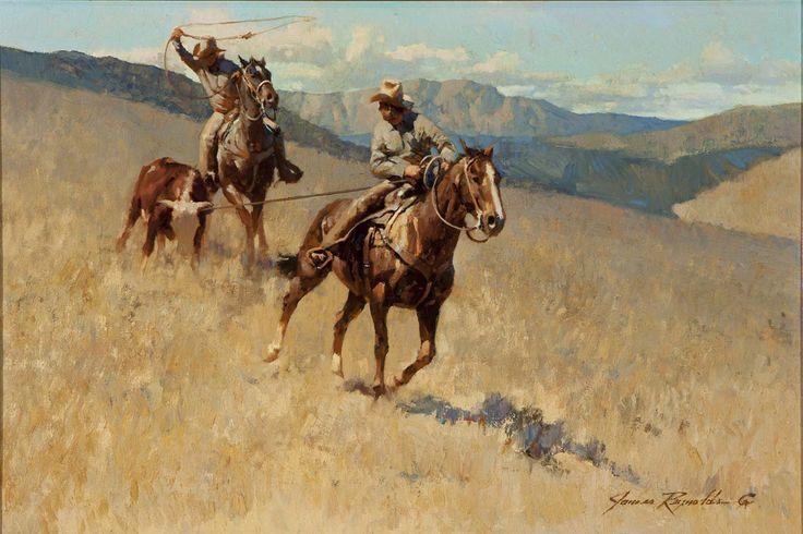 American western artists oil paintings james reynolds for Original sculptures for sale