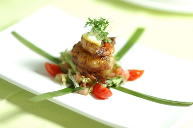 Crave Catering Prawns Canapes!