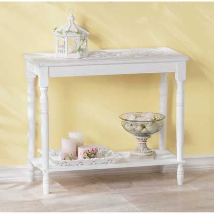 34709 Intricately+Carved-Top+Table