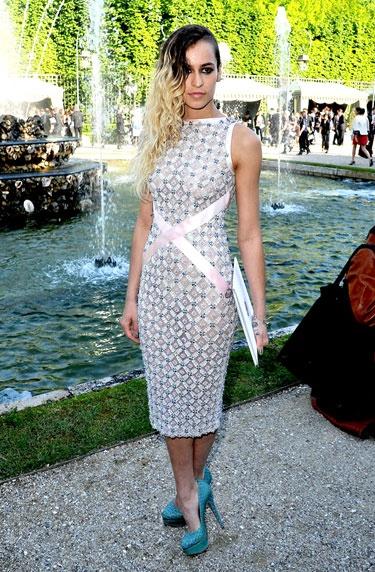 Alice Dellal: Celeb Style, Harpers Bazaar, Dress, Alice Dellal, Fabulous Sheath, Fashion Trends, Chanel Resort, Cruise 2013, Chanel Cruise