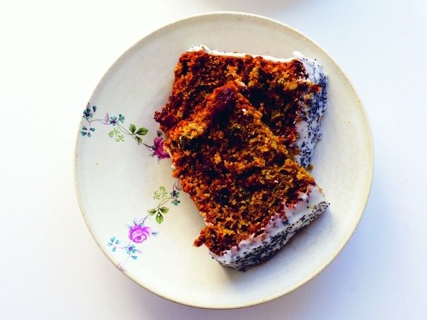 Beet Seed Cake...made with beets.  and seeds.  not beet seeds.