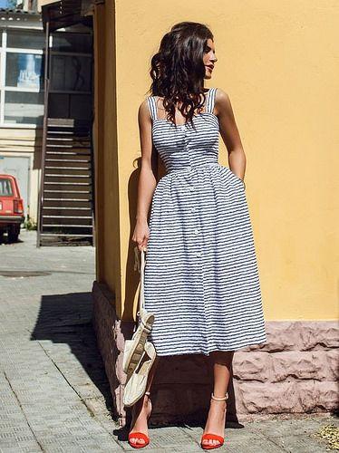 eab3718b9 Vestido com botões na frente: Moda verão 2019 | Inspire 4 What ...