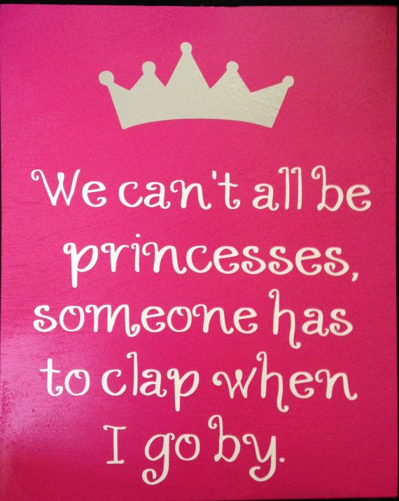 Can't princesses, wear a crown, birthday queen, crown, gag ...