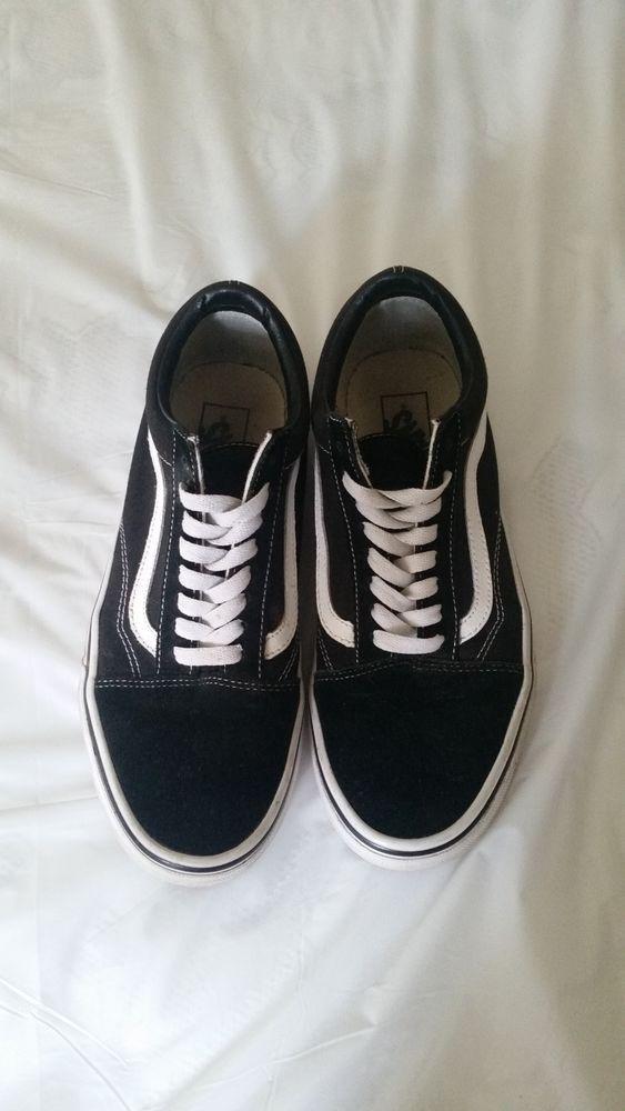 1d0b048d7a Vans old school mens shoes 8.5 black  fashion  clothing  shoes  accessories