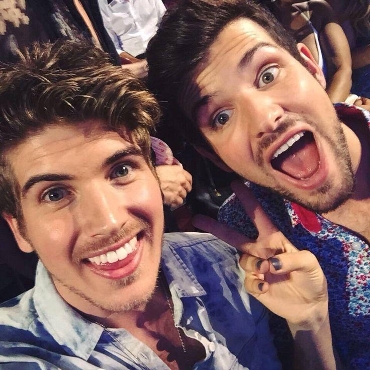 Joey and Daniel at the Teen Choice Awards 2015