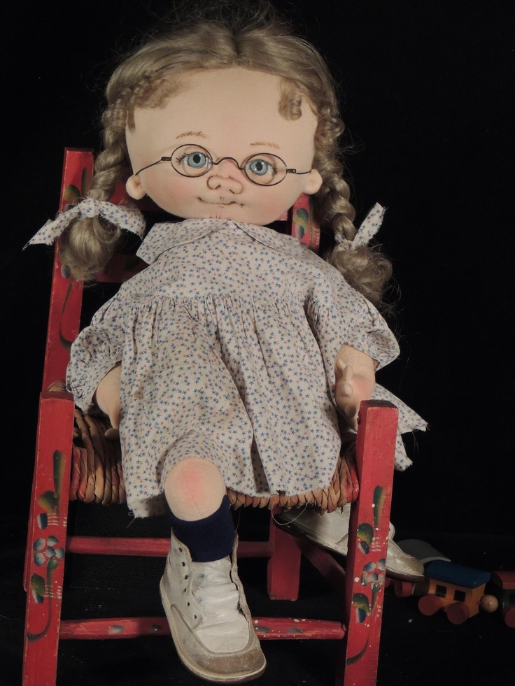Betsy Gay Little Rascal  one of a kind  by doll artist Jan Shackelford