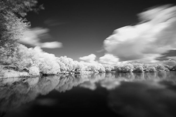 First #ir attempt - unconverted camera with #infrared filter. Long exposure time but I like it already!