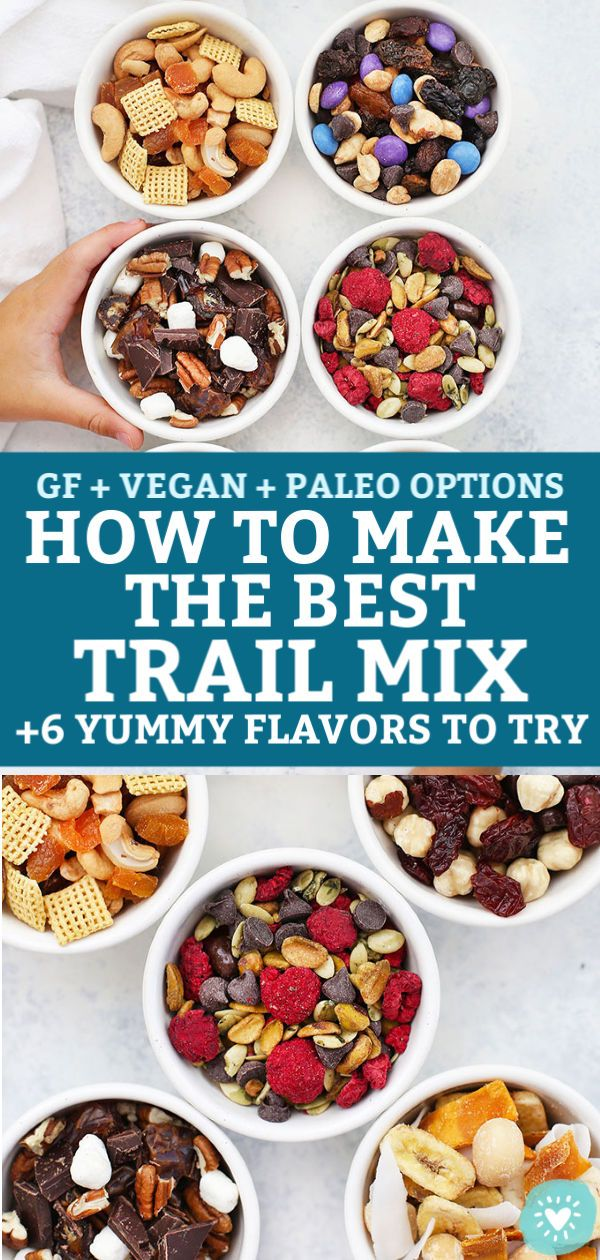 Trail Mix for the Week (+Our Favorite Trail Mix Combos!)