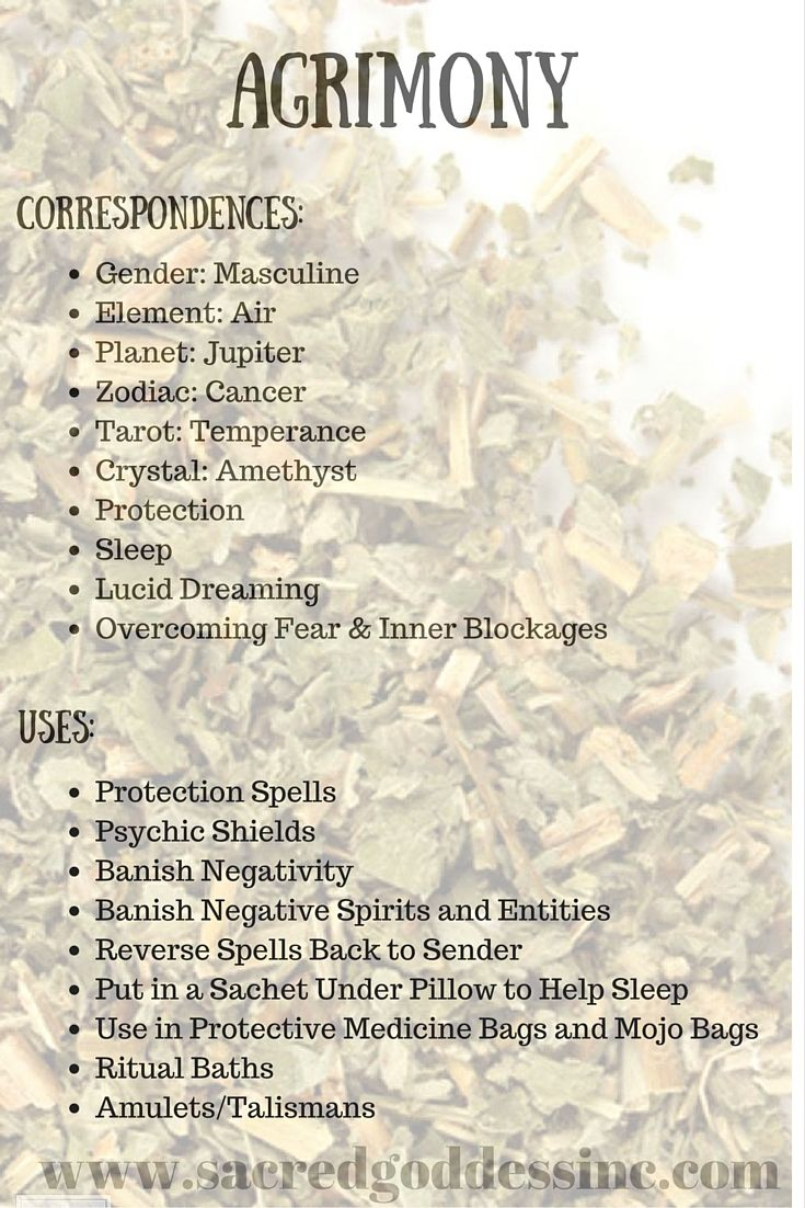 """Magick Herb Agrimony: 2""""x3"""" bag for sale"""