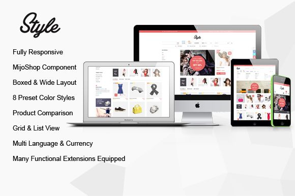 Check out SJ Style - Responsive MijoShop Theme by YouTech on Creative Market