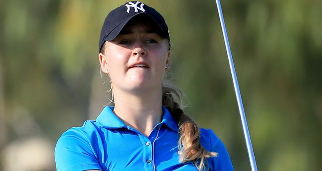 Sportvantgarde's blog.: Golf:Charley Hull closes with superb 62 to win Lal...